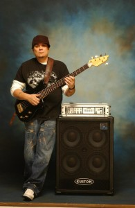 "Erben Perez, Bassist for the Marc Anthony band, Jennifer Lopez and ""Talking Buddah"" uses the EXB-5 pro series"