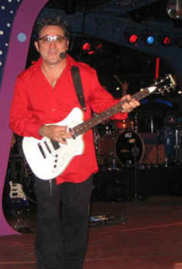 Bruce Soto, founder & lead guitarist for the world famous SOTO Band, on tour now playing one of his EXP Pro series